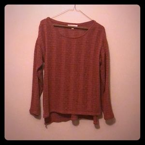 Dusty Rose Summer sweater by Vince Camino